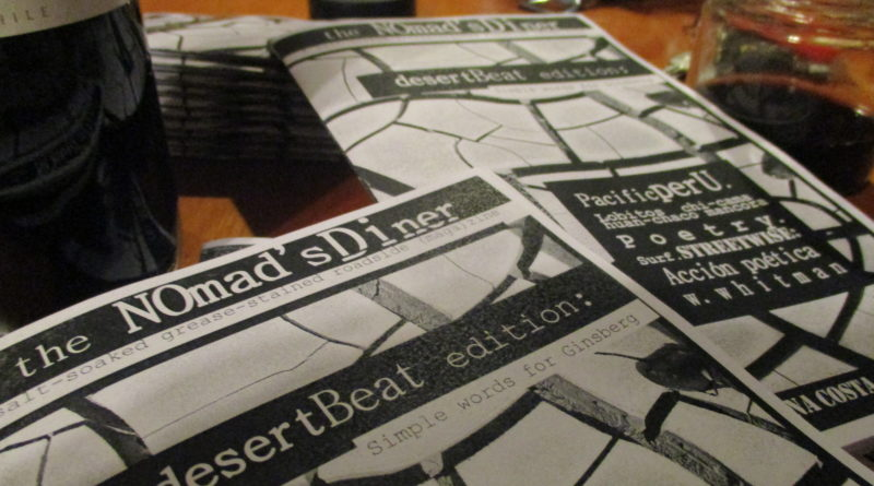 The latest ZINE is live and direct! The Desert Beat edition: simple words for Ginsberg