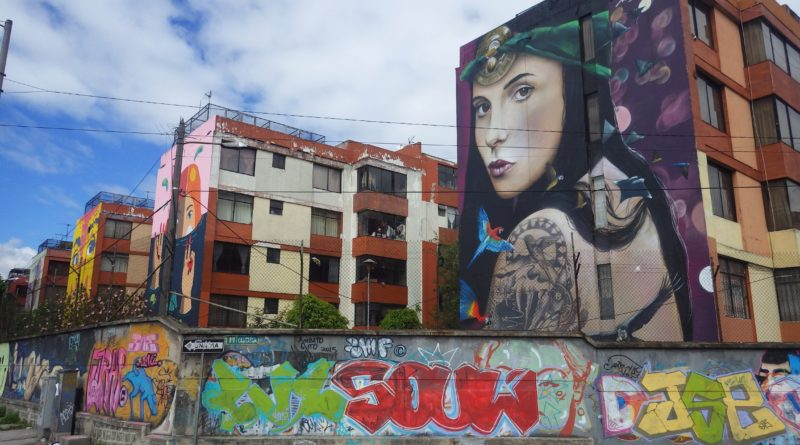 Paint your cities Poetic. Ecuador.
